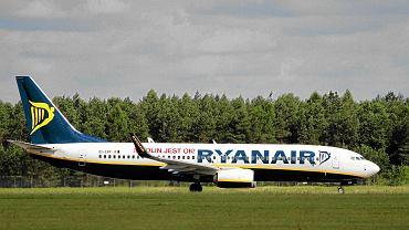 Ryanair po raz drugi opuszcza Okęcie