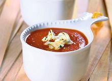 Krem pomidorowy z kalafiorem - ugotuj