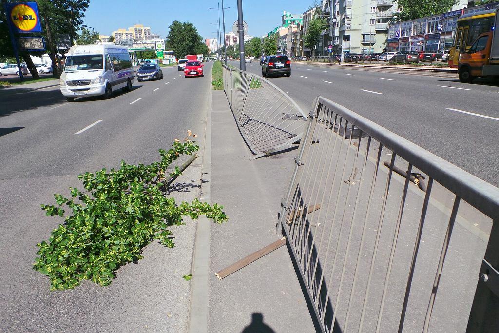 Wypadek na Grochowskiej