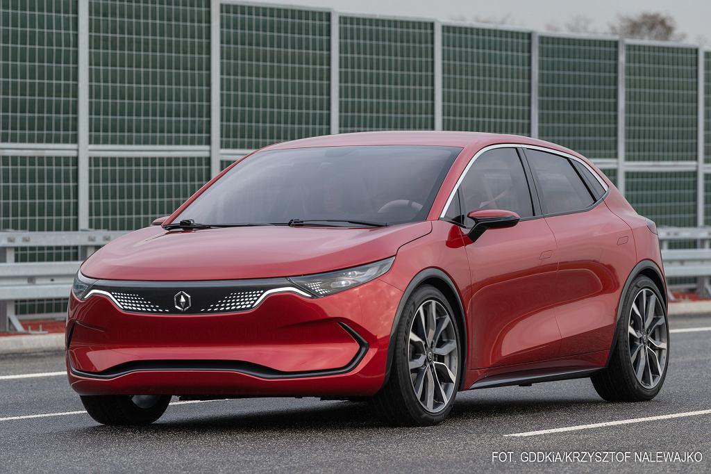 Polskie samochody elektryczne Izera będą powstawać w fabryce w Jaworznie. Ich produkcja ma się rozpocząć w 2024 r.