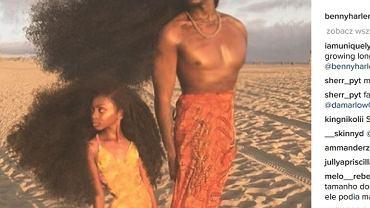 Niezwykłe fryzury ojca i córki