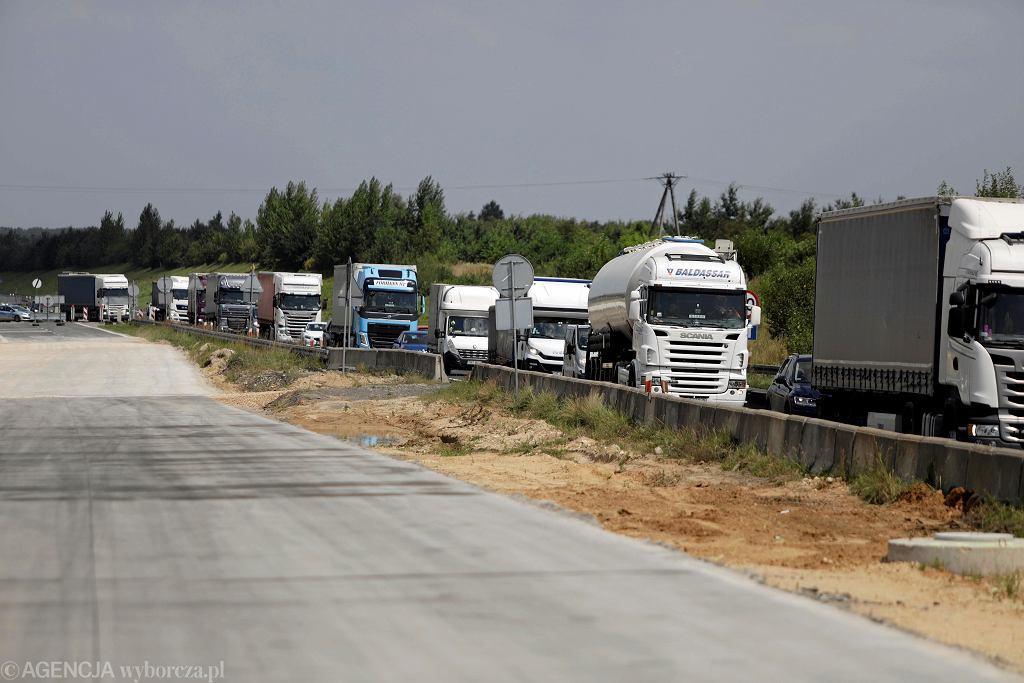 Budowa obwodnicy autostrady A1 w Rzasawach