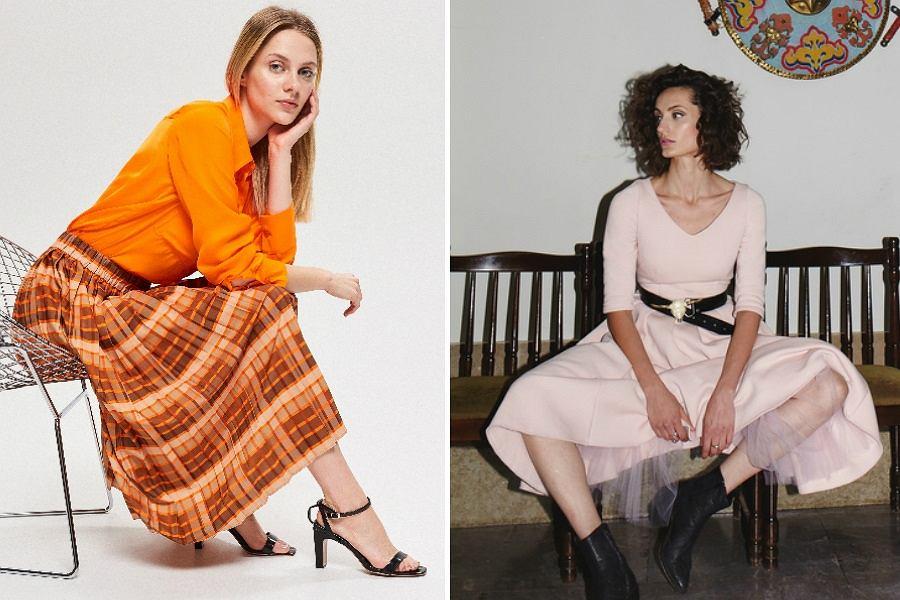 Sukienki i spódnice plisowane