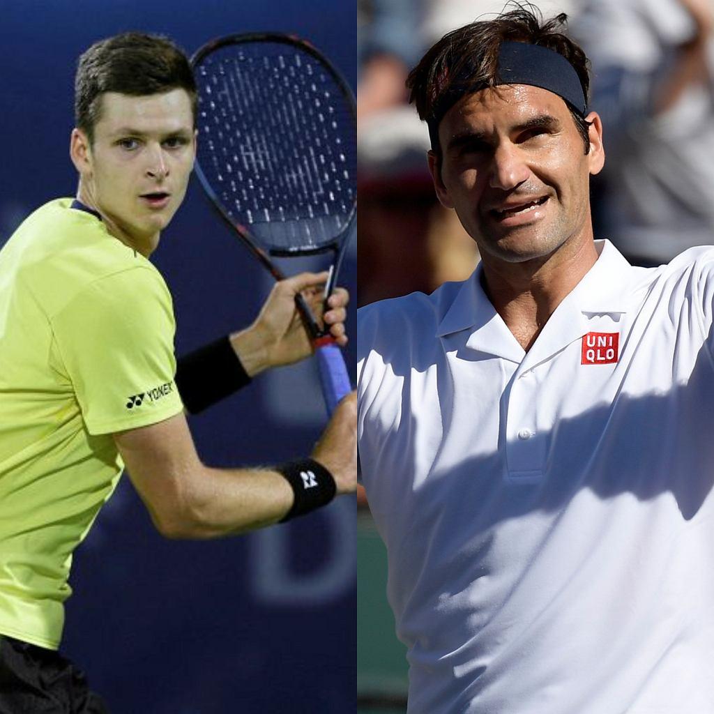 Hubert Hurkacz - Roger Federer. Gdzie oglądać ćwierćfinał w Indian Wells?