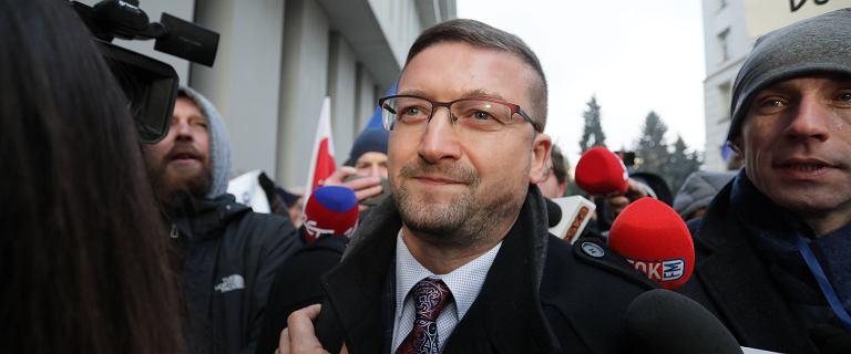 Juszczyszyn przyjechał do Sejmu przejrzeć listy KRS. Cofnięto mu delegację