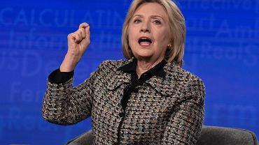 Hillary Clinton na panelu dyskusyjnym o 'Hillary'