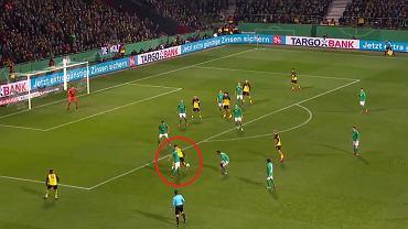 Giovanni Reyna strzela swojego debiutanckiego gola dla Borussii Dortmund