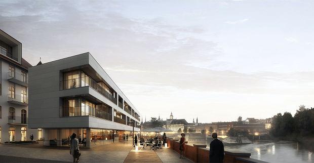 Tak ma wyglądać nowy pawilon w inwestycji Witolda 3840 firmy Okre Development