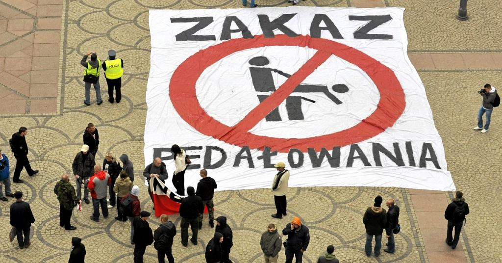 Zakaz pedałowania Park Praski