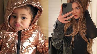 Kylie Jenner założyła córce ogromne kolczyki