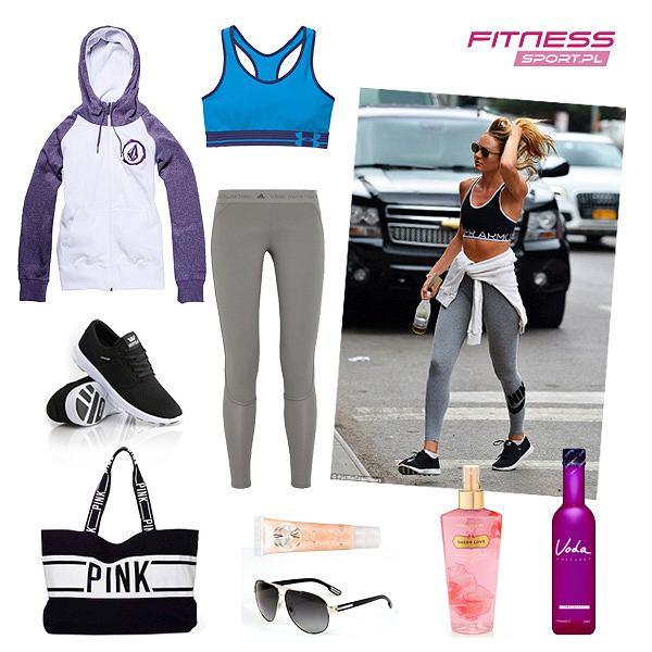 Candice Swanepoel trening w stylu gwiazd