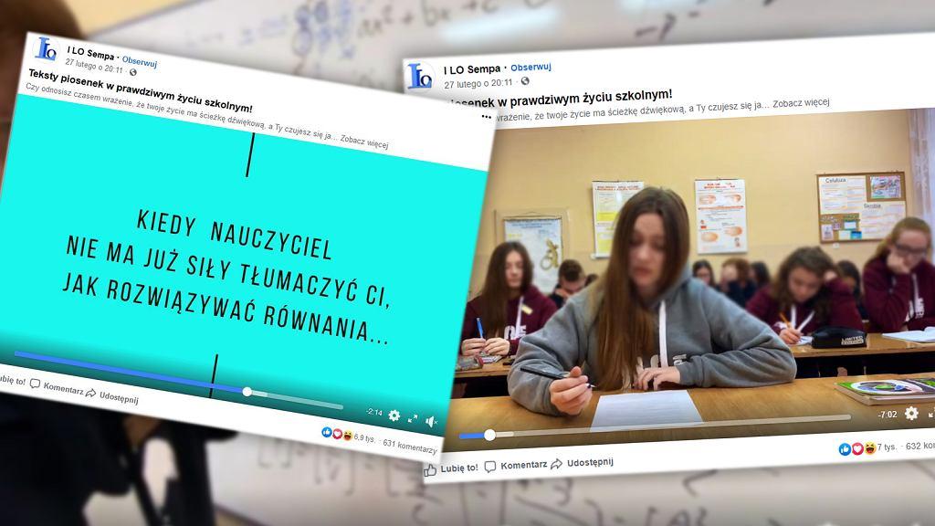 Uczniowie z I LO im. Stefanii Sempołowskiej w Tarnowskich Górach nagrali oryginalny film, promujący ich szkołę.