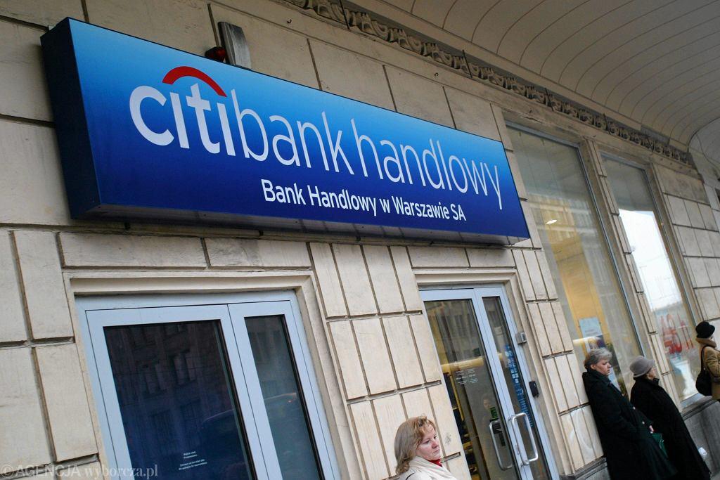 Citibank handlowy, zdjęcie ilustracyjne