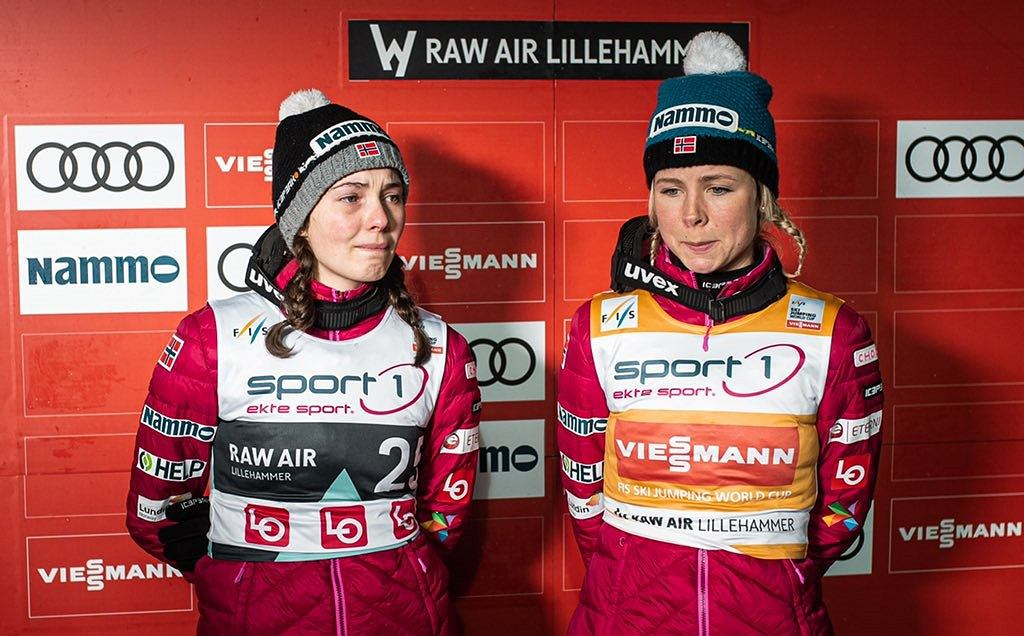 Silje Opseth i Maren Lundby