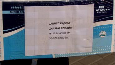 Pieluchy dla trenera Janusza Ślączki od Witolda Skrzydlewskiego