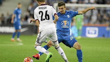 Lech Poznań - FC Basel 1:3 w III rundzie eliminacji do Ligi Mistrzów. Karol Linetty