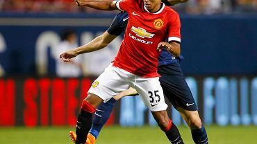 PSG - Manchester United. Jesse Lingard i Cavani