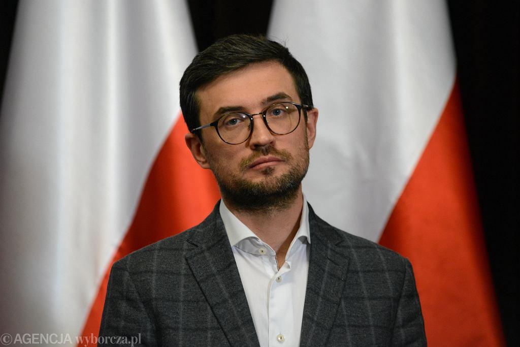 Dyrektor CKE Marcin Smolik