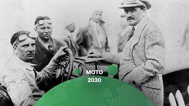 Alfred Neubauer i Ferdynand Porsche (z prawej)