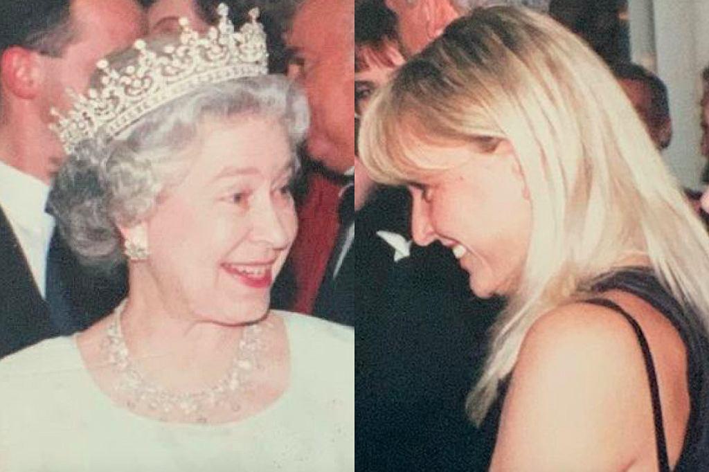 Królowa Elżbieta, Monika Olejnik