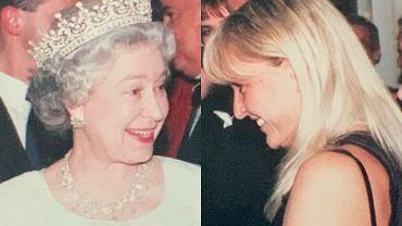 Monika Olejnik i królowa Elżbieta II na jednym zdjęciu. Chyba dobrze im się rozmawiało, ale to osoba w tle skradła show