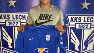 Lucas Guedes podpisał kontrakt z Lechem Poznań