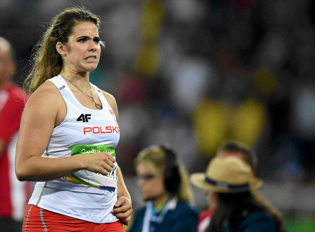 Maria Andrejczyk zajęła czwarte miejsce w finale rzutu oszczepem na igrzyskach w Rio