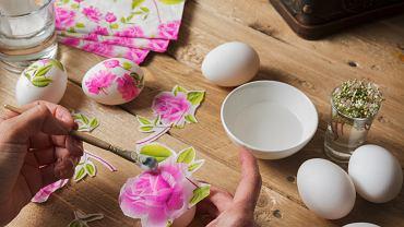 Jajka na Wielkanoc. Zdjęcie ilustracyjne