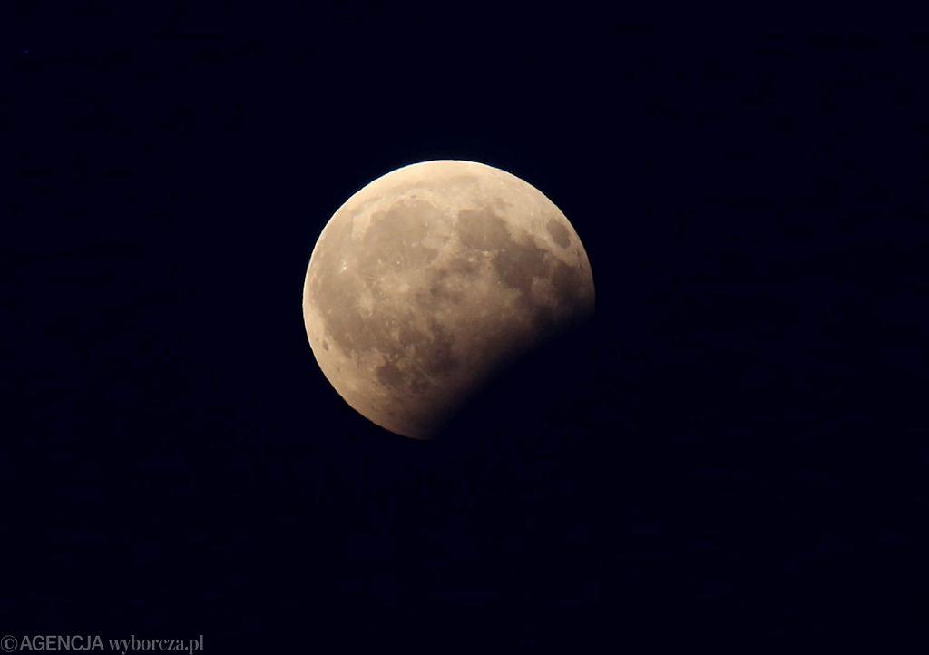 Zaćmienie Księżyca 2018. Transmisja NASA jest już dostępna