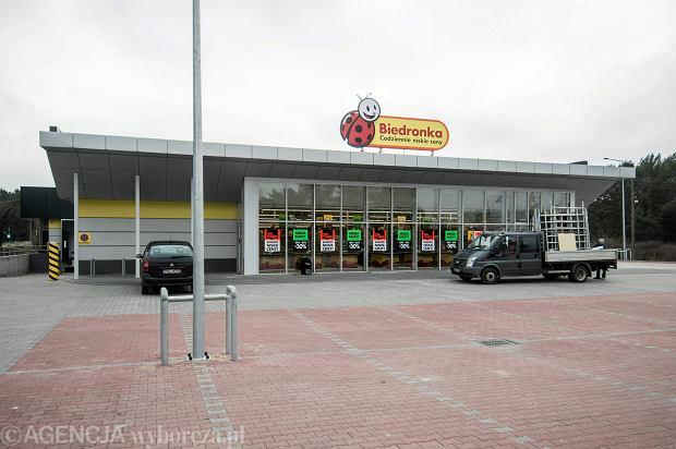 !Bydgoszcz . Nowy market Biedronka
