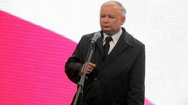 """Kaczyński na Śląsku: Państwo ufundowane na """"Solidarności"""" nie przestrzega praw ludzi pracy"""