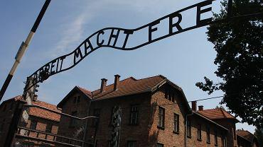 Teren byłego nazistowskiego obozu koncentracyjnego Auschwitz-Birkenau.