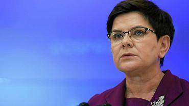 Premier Beata Szydło nazwała propozycję referendum ws. reformy edukacji 'działaniem politycznym'