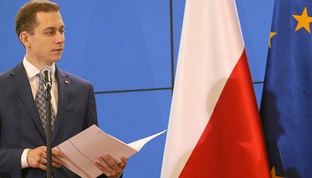 Rzecznik rządu Cezary Tomczyk