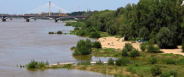 Kiedy fala kulminacyjna dotrze do Warszawy? Poziom wody w Wiśle się podnosi, ratusz jest przygotowany