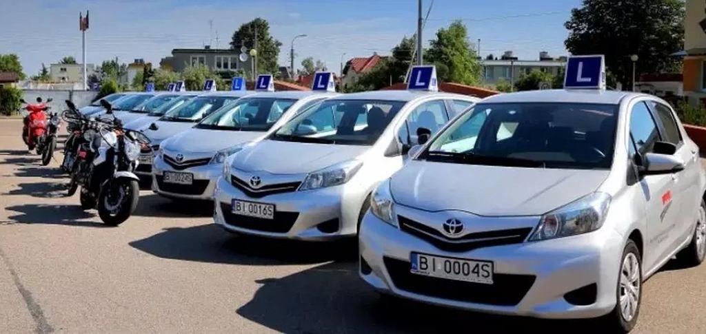 WORD Białystok, egzamin na prawo jazdy