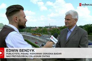 """""""Tolerancja w Polsce jest zakładnikiem polityki"""". Edwin Bendyk o histerii wokół Parady Równości i karty LGBT+"""