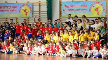 Przedszkoliada z udziałem siatkarzy PGE Skry