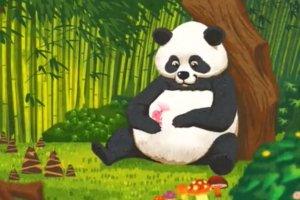 Malutki miś panda ssie mleko swojej mamy - UNICEF promuje karmienie piersią uroczym filmem o ssakach