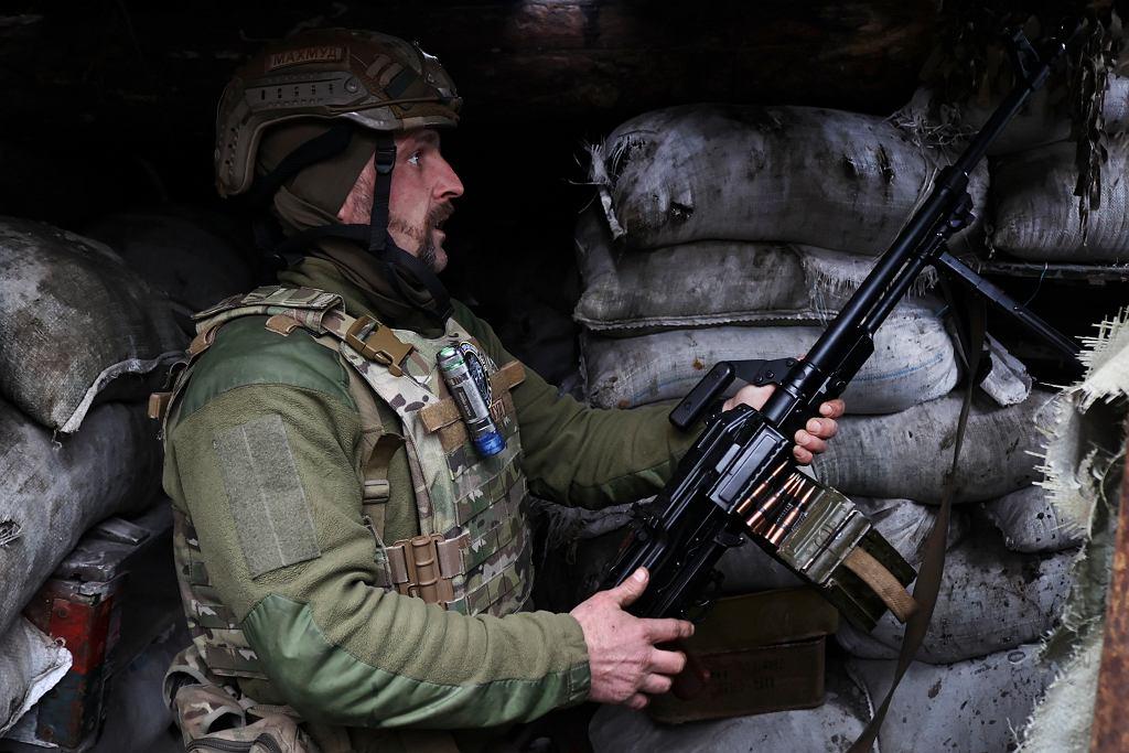 Ukraiński żołnierz, 14.04.2021 r.
