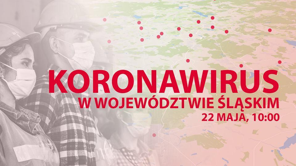 Koronawirus w województwie śląskim. Najnowsze informacje 22 maja, godzina 10:00