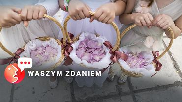 Czy chłopcy nie mogą sypać kwiatków podczas kościelnych uroczystości?