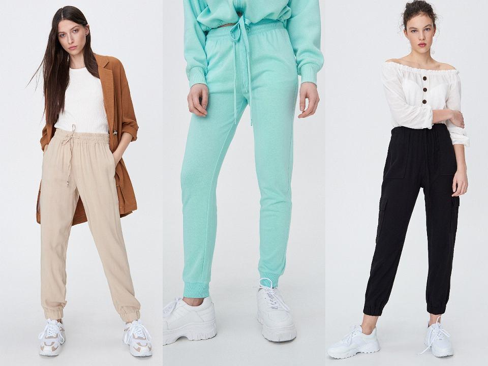 Joggery damskie w modnych kolorach