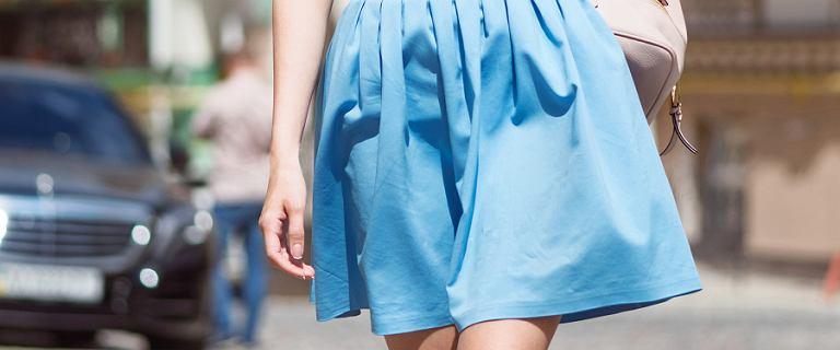 Pastelowe spódnice na lato