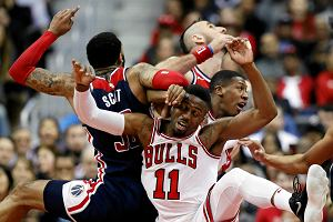 NBA. Wizards wyrwali zwycięstwo Bulls