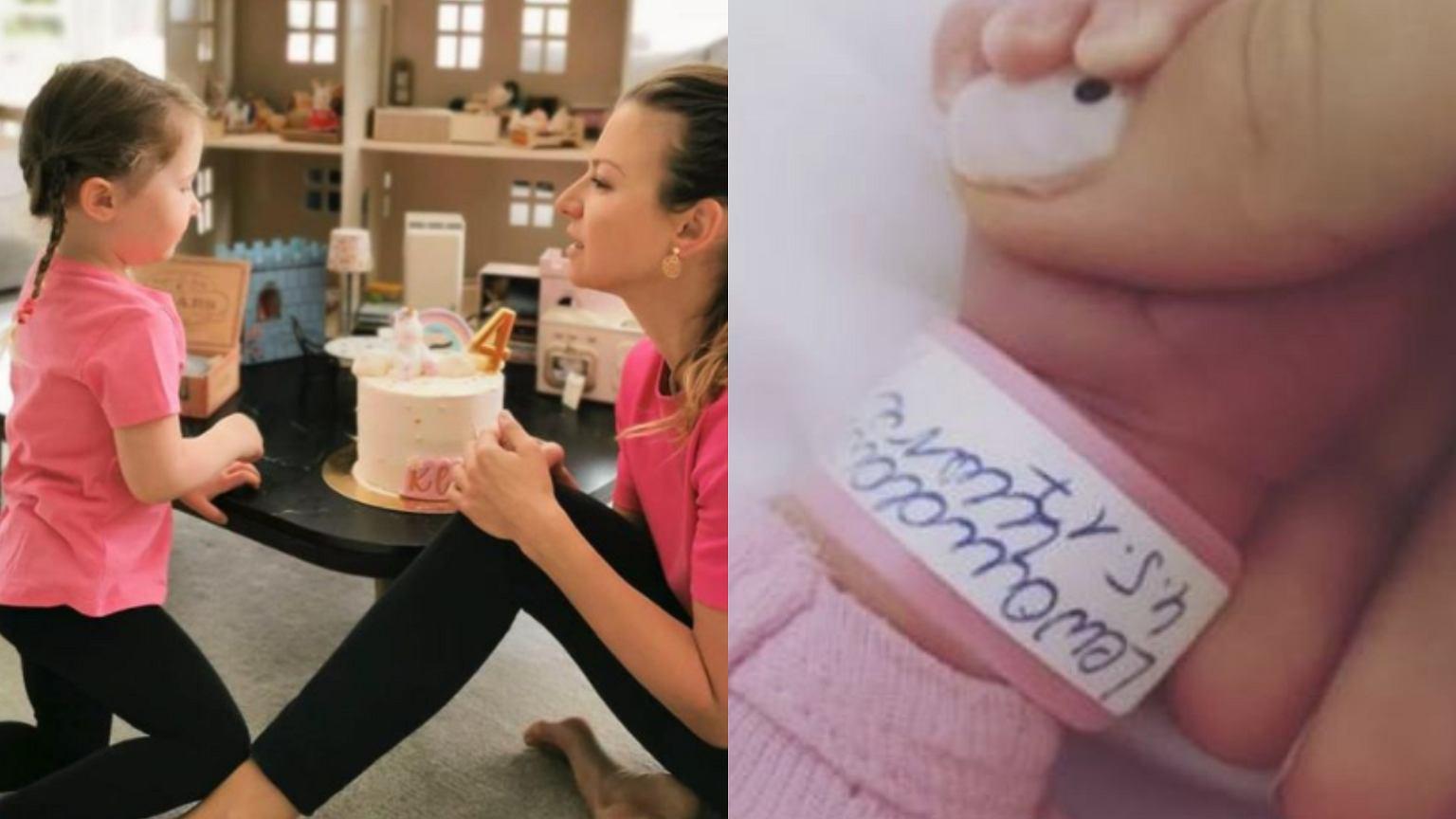 Klara skończyła cztery lata. Anna Lewandowska dodała niepublikowane zdjęcia z porodówki