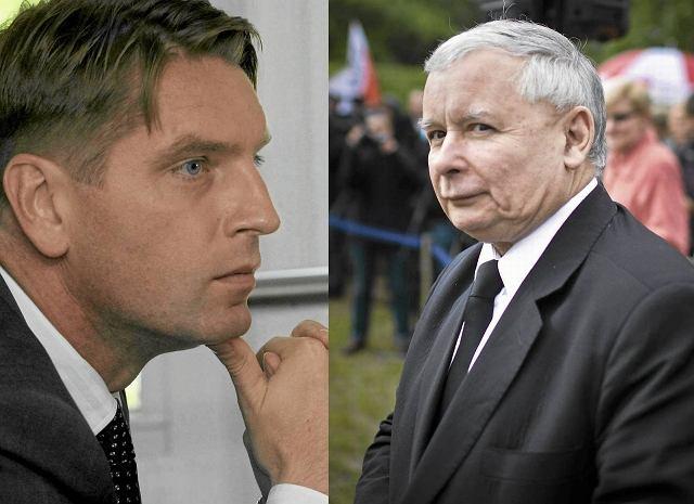 Tomasz Lis i Jarosław Kaczyński