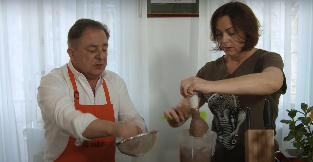 Robert Makłowicz i Agnieszka Makłowicz