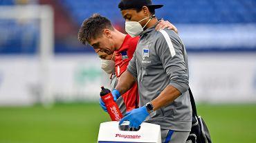 Krzysztof Piątek doznał kontuzji, a trener Herthy przyznaje: Jest źle