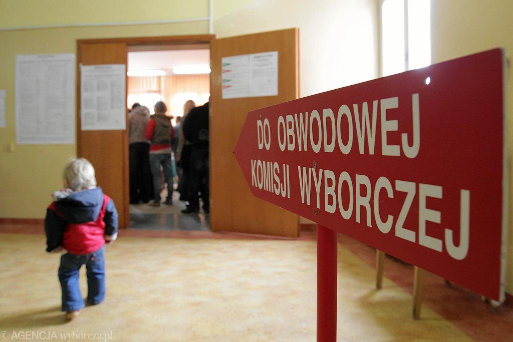 Wybory parlamentarne (zdjęcie ilustracyjne)